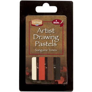 Heritage Arts  Sketching Tones Artist Drawing Pastel Set
