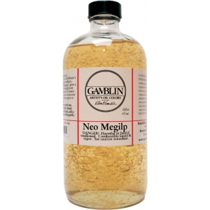 Gamblin Neo-Megilp 16oz: 16 oz, Oil Glaze
