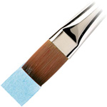 "Winsor & Newton™ Cotman™ Series 777 Aquarelle Short Handle Brush 1"": Short Handle, Synthetic, Watercolor, (model WN5307125), price per each"