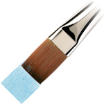 "Winsor & Newton™ Cotman™ Series 666 One Stroke Short Handle Brush 1/4"": Short Handle, Synthetic, One Stroke, Watercolor, (model WN5306106), price per each"