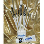 Permalba Deluxe Oil Brush: Set of 12