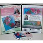 Gisele Grenier's Reversed Glass Painting and Acrylic Painting Fundamentals DVD: 1.5 Hour