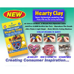 Hearty Clay 1.75 oz Package: White, Pack of 6