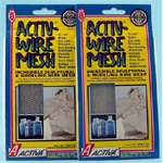 "Activa 12"" X 24"" Large Aluminum Wire Mesh with 1/4"" X 1/8"" Mesh, Pack of 6"