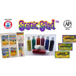 Activa Scenic Sand Assortment: 12 Colors, 1 lb. Bag
