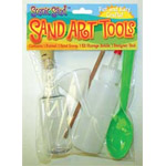 Sand Art Tool Kit, Pack of 6