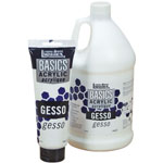 Liquitex® Basics Gesso 1/2 gallon: Jug, 1/2 gal, Gesso, (model 104084), price per each