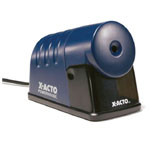 X-Acto® PowerHouse® Heavy-Duty Commercial Grade Electric Pencil Sharpener Blue: Blue, One, Plastic, Electric