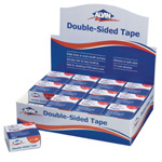 "Alvin® Double-Sided Tape Display: White/Ivory, Double-Sided, 1"", (model 2400CD), price per each"