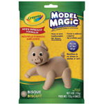 Crayola® Model Magic® Single Pack 4oz Bisque: Brown, 4 oz, Craft, (model 57-4433), price per each