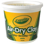 Crayola Air-Dry Clay 5lb White