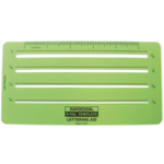 "Rapidesign® Lettering Aid Template: 1/16"", 1/8"", 3/32"", 5"", 5/32"", (model 926R), price per each"