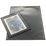 "Prestige™ Archival Print Protector 14"" x 18"": Black/Gray, Polypropylene, 14"" x 18"", (model AA1418-6), price per pack"