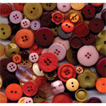 "Buttons Galore & More Button Bonanza Grab Bag Vintage: Multi, Plastic, Round, 3/8"" - 1"", (model BB12), price per each"