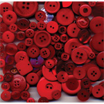 Buttons Galore & More Grab Bag Fire Engine Red