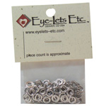 "Blue Hills Studio™ Washers: Metallic, Aluminum, Round, 1/8"", (model BHSWASH1), price per pack"