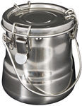 "Heritage Arts™ Airtight Steel Brush Washer 24oz: Steel, 24 oz, 4 7/8"", Cleaning Basin, (model BWB13), price per each"