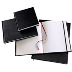 "Heritage Arts™ Hardcover Sketchbook 4 x 6: Wire Bound, White/Ivory, Book, 110 Sheets, 4"" x 6"", 70 lb"