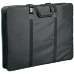 "Prestige™ Carry-All™ Soft-Sided Art Portfolio 20"" x 26"": Black/Gray, 3"", Nylon, 20"" x 26"", (model MN2026), price per each"