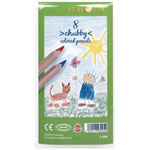 Finetec Chubby Colored Pencil 8-Color Set: Multi, Pencil
