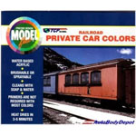 Badger Modelflex RailRoad Private Car Colors