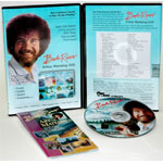 Bob Ross DVD: Workshop Landscape, (3 Hour)