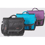 Martin Just Stow-it Ultimate Messenger Bag: Purple, Model # 66-JS1007B