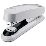 Novus B4 Compact Flat Clinch Executive Stapler - Grey