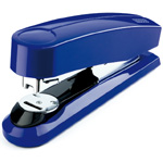 Novus B4 Compact Flat Clinch Executive  Stapler - Blue