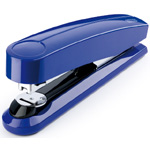 Novus B5 Flat Clinch Executive Stapler - Blue