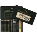 Faber-Castell Graphite Set: Tin of 29