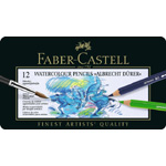 Faber-Castell Albrecht Durer Artists' Watercolour Pencil: Tin of 12