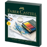 Faber-Castell Albrecht Durer Artists' Watercolour Pencil: Studio Box of 36 X Brush