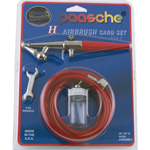 Paasche Airbrush Paasche H-CARD Single Action Airbrush Airbrush Set
