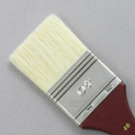 Hog Bristle Series 200: Wide Flat Size 40 Brush