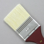 Hog Bristle Series 200: Wide Flat Size 50 Brush