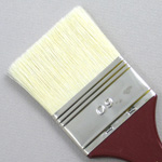 Hog Bristle Series 200: Wide Flat Size 60 Brush