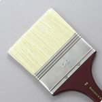 Hog Bristle Series 200: Wide Flat Size 90 Brush