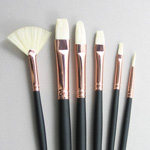 Repin Set of 6 Hog Bristle Art Brushes