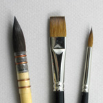 Trinity Brush Apprentice Set of 3 Art Brushes