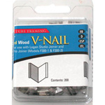 "Logan 1/4"" (7mm) V-Nail: Soft, 1 Pack of 200 V-Nails"