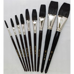 Mack Jet Stroke-Lettering Brush Series 1962: # 1/4, Hair Length 1-3/8""