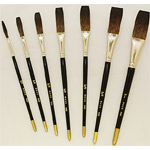 Mack Soft Stroke Lettering Brush Series 1992: #1, Hair Length 1-15/16""