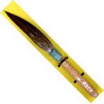 Mack Squirrel Hair Sword Striper Series 20: #0, Touch-Up Brush, 6.35 mm Head Width