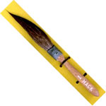 Mack Squirrel Hair Sword Striper Series 20: #1, Touch-Up Brush, 7.39 mm Head Width