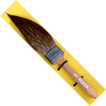 Mack Squirrel Hair Sword Striper Series 20: #4, Touch-Up Brush, 14.28 mm Head Width