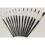 Mack Camel Hair Watercolor Brushes Series 970: Size-1