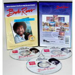 "Bob Ross 10 DVD Set-9: 1 Hr Workshops Plus Dvd ""R001"" Getting Started"