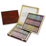 Gallery Extra Soft Pastel 90 Colors in Wooden Box: Model # MPA-90W