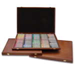 Gallery Artist Semi Hard Pastels with Wooden Box: Set of 72 pieces